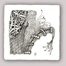 Zentangle by Maria Thomas